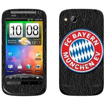 Виниловая наклейка «Бавария эмблема» на телефон HTC Desire S