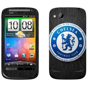 Виниловая наклейка «Челси эмблема» на телефон HTC Desire S