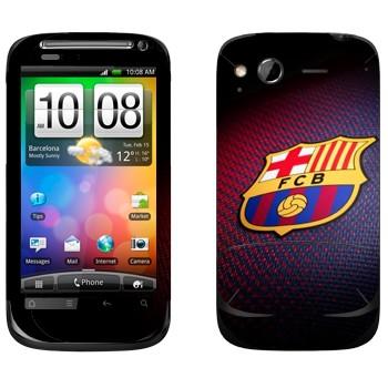 Виниловая наклейка «Эмблема ФК Барселона» на телефон HTC Desire S