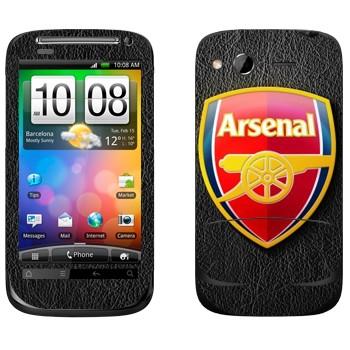 Виниловая наклейка «ФК Арсенал эмблема» на телефон HTC Desire S