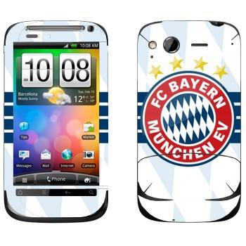 Виниловая наклейка «ФК Бавария Мюнхен» на телефон HTC Desire S