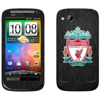 Виниловая наклейка «Ливерпуль эмблема» на телефон HTC Desire S