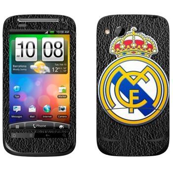 Виниловая наклейка «Реал Мадрид эмблема» на телефон HTC Desire S