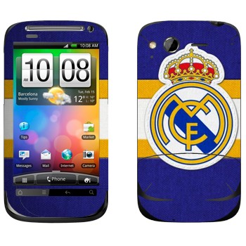 Виниловая наклейка «Реал Мадрид» на телефон HTC Desire S