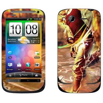 Виниловая наклейка «Современные танцы» на телефон HTC Desire S