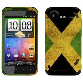 Виниловая наклейка «Ямайка» на телефон HTC Incredible S