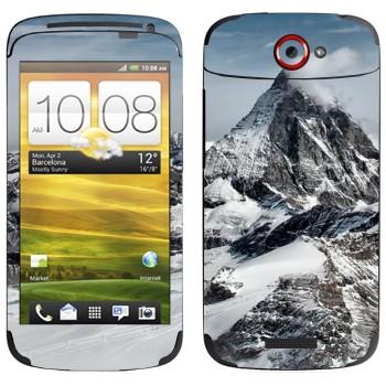 Виниловая наклейка «Эверест» на телефон HTC One S