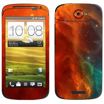 Виниловая наклейка «Туманность» на телефон HTC One S