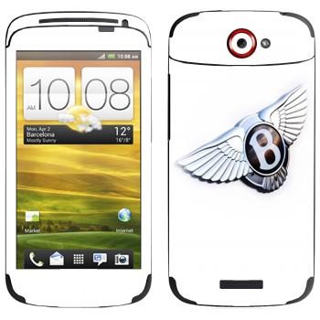 Виниловая наклейка «Bentley эмблема» на телефон HTC One S