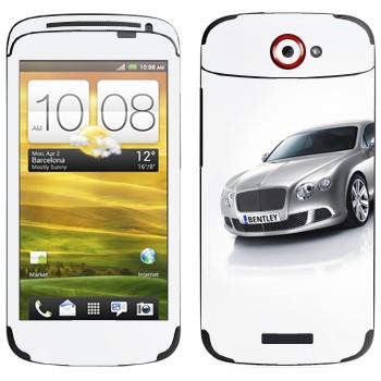 Виниловая наклейка «Bentley» на телефон HTC One S