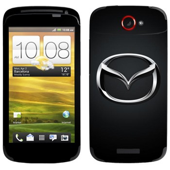 Виниловая наклейка «Mazda значок» на телефон HTC One S
