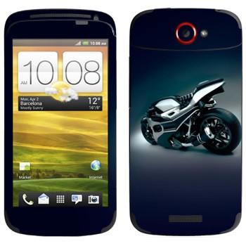 Виниловая наклейка «Супер байк прототип» на телефон HTC One S