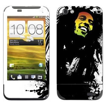 Виниловая наклейка «Боб Марли» на телефон HTC One V