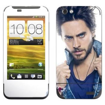 Виниловая наклейка «Джаред Лето» на телефон HTC One V