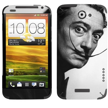 Виниловая наклейка «Сальвадор Дали» на телефон HTC One X