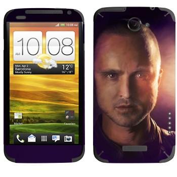 Виниловая наклейка «Джесси Пинкман - Во все тяжкие» на телефон HTC One X