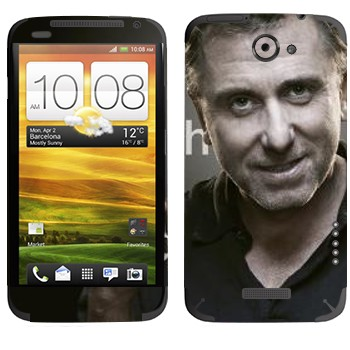 Виниловая наклейка «Кэл Лайтман - Lie to me» на телефон HTC One X