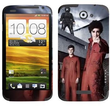 Виниловая наклейка «Отбросы 2-й сезон» на телефон HTC One X