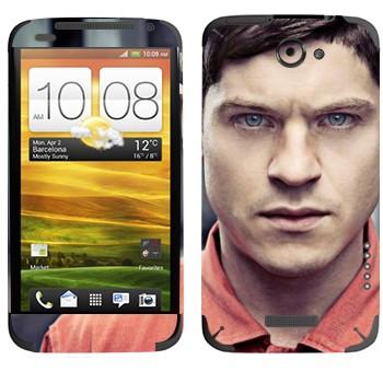 Виниловая наклейка «Саймон Беллами - Отбросы» на телефон HTC One X