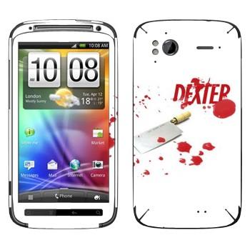 Виниловая наклейка «Декстер» на телефон HTC Sensation