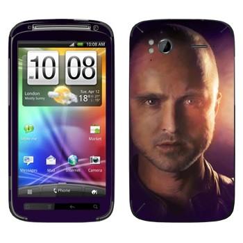 Виниловая наклейка «Джесси Пинкман - Во все тяжкие» на телефон HTC Sensation