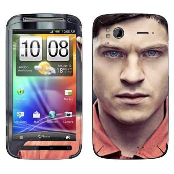 Виниловая наклейка «Саймон Беллами - Отбросы» на телефон HTC Sensation