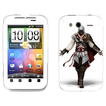 Виниловая наклейка «Assassin 's Creed 2» на телефон HTC Wildfire S