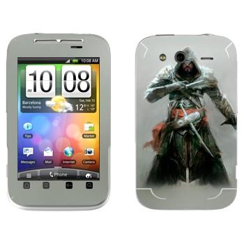 Виниловая наклейка «Assassin's Creed: Revelations - невидимый убийца» на телефон HTC Wildfire S