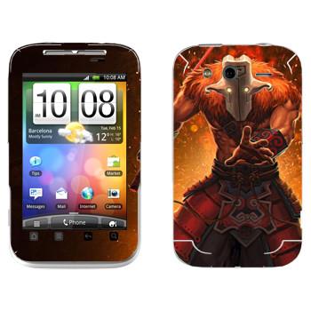 Виниловая наклейка «Джаггернаут - Dota 2» на телефон HTC Wildfire S