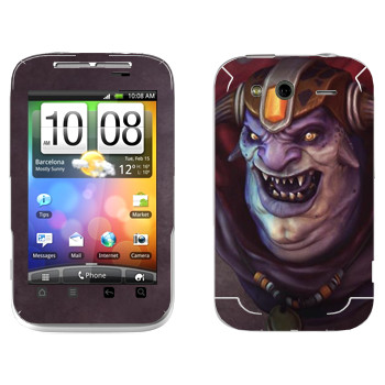Виниловая наклейка «Лион - Dota 2» на телефон HTC Wildfire S