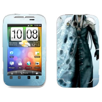 Виниловая наклейка «Сефирот - Final Fantasy» на телефон HTC Wildfire S