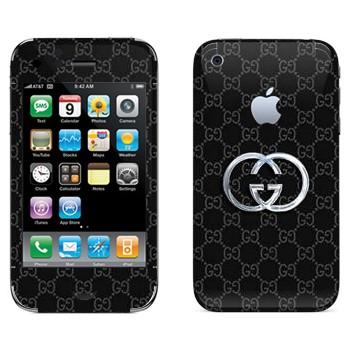 Виниловая наклейка «Gucci» на телефон Apple iPhone 3G