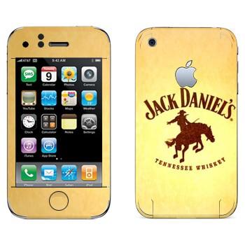 Виниловая наклейка «Jack daniels Родео» на телефон Apple iPhone 3G