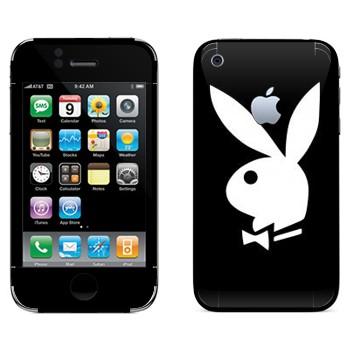 Виниловая наклейка «Логотип Playboy» на телефон Apple iPhone 3G