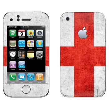 Виниловая наклейка «Флаг Англии» на телефон Apple iPhone 3G