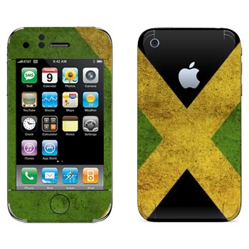 Виниловая наклейка «Ямайка» на телефон Apple iPhone 3G