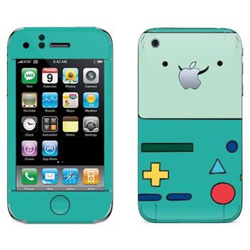 Виниловая наклейка «БиМО - Adventure Time» на телефон Apple iPhone 3G