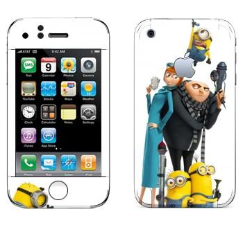 Виниловая наклейка «Гадкий Я 2» на телефон Apple iPhone 3G