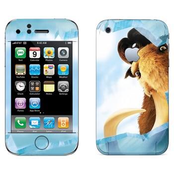 Виниловая наклейка «Манфред - Ледниковый период» на телефон Apple iPhone 3G