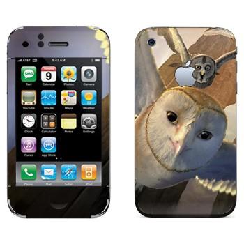 Виниловая наклейка «Совёнок Сорен - Ночные стражи» на телефон Apple iPhone 3G
