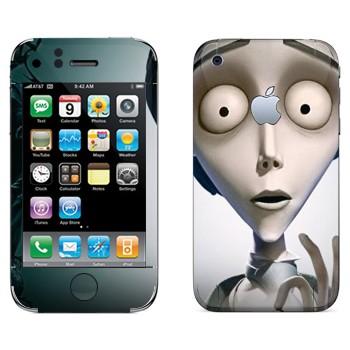 Виниловая наклейка «Виктор Ван Дорт - Труп невесты» на телефон Apple iPhone 3G