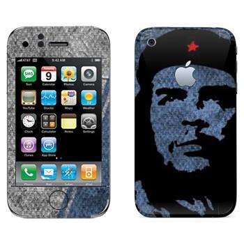 Виниловая наклейка «Comandante Che Guevara» на телефон Apple iPhone 3G