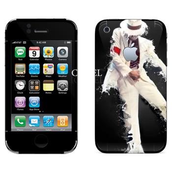 Виниловая наклейка «Майкл Джексон» на телефон Apple iPhone 3G