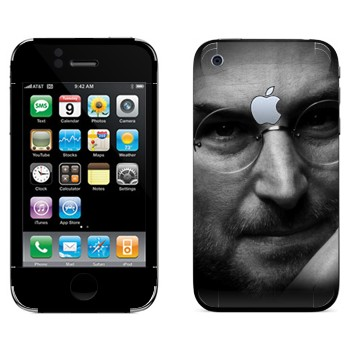 Виниловая наклейка «Стив Джобс» на телефон Apple iPhone 3G