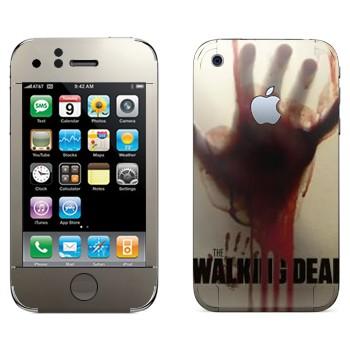 Виниловая наклейка «Dead Inside - Ходячие мертвецы» на телефон Apple iPhone 3GS