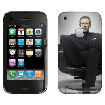 Виниловая наклейка «HOUSE M.D.» на телефон Apple iPhone 3GS