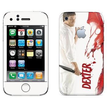 Виниловая наклейка «Декстер Морган» на телефон Apple iPhone 3GS