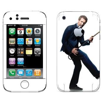 Виниловая наклейка «Грегори Хаус - Доктор Хаус» на телефон Apple iPhone 3GS