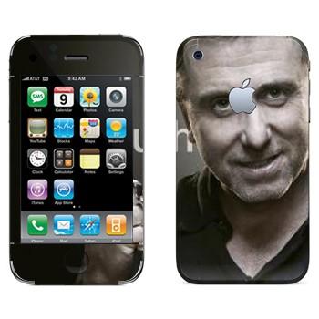 Виниловая наклейка «Кэл Лайтман - Lie to me» на телефон Apple iPhone 3GS