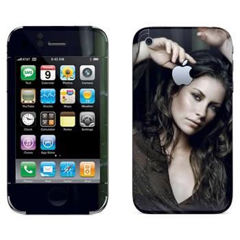 Виниловая наклейка «Кейт Остин - Lost» на телефон Apple iPhone 3GS